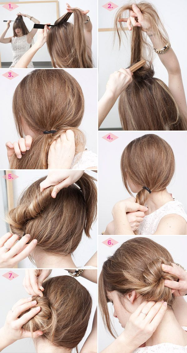 23 Five Minute Hairstyles For Busy Mornings Thick Hair Hair