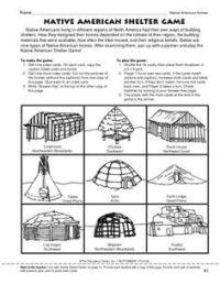 native american regions worksheet - Google Search   Native ...