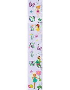 Mona melisa designs customized fairy girl olivia growth chart decorative wall sticker   also rh pinterest