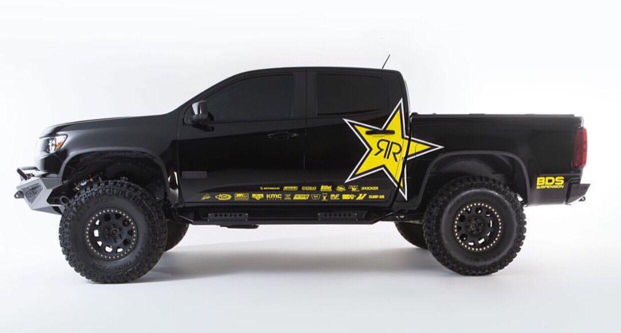 Car Rockstar Wrap Energy