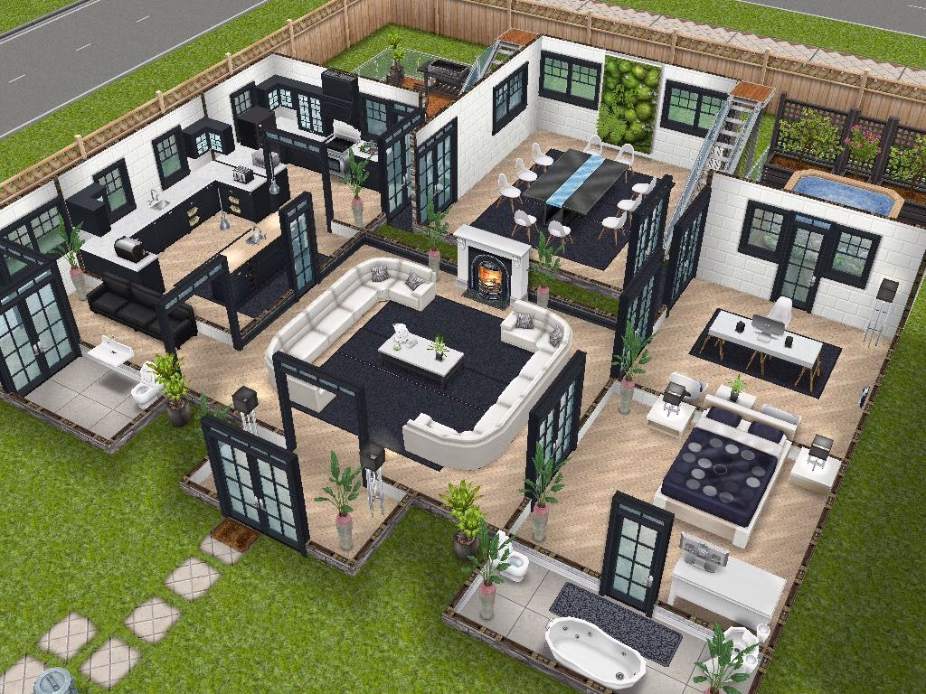 House 75 Remodelled Player Designed House Ground Level #sims