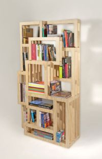 Homemade Bookshelves Ideas : Awesome Modern Minimalist ...