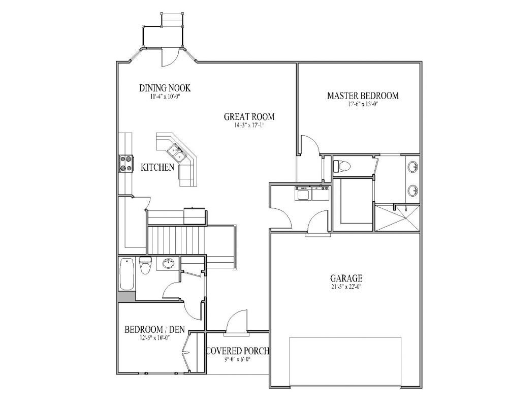Small House Plans The Carrera Floor Plan – Signature Collection