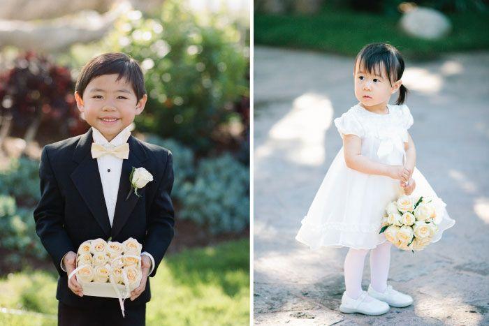 Ritz Carlton Laguna Niguel Wedding Flower Girl Ring Bearer