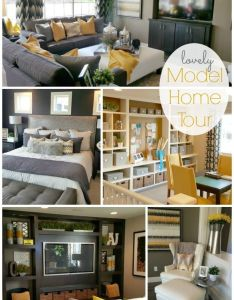 Decorating model homes home box ideas also oakwood tour pretty rooms decor via rh pinterest