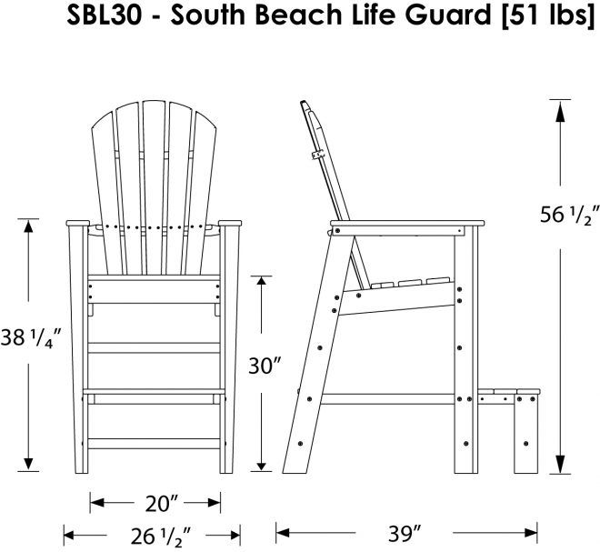 Lifeguard Chair Plans : The Correct Method To Select The