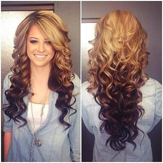 Cute Hairstyles For Long Hair Womens Girls Curly Hair And