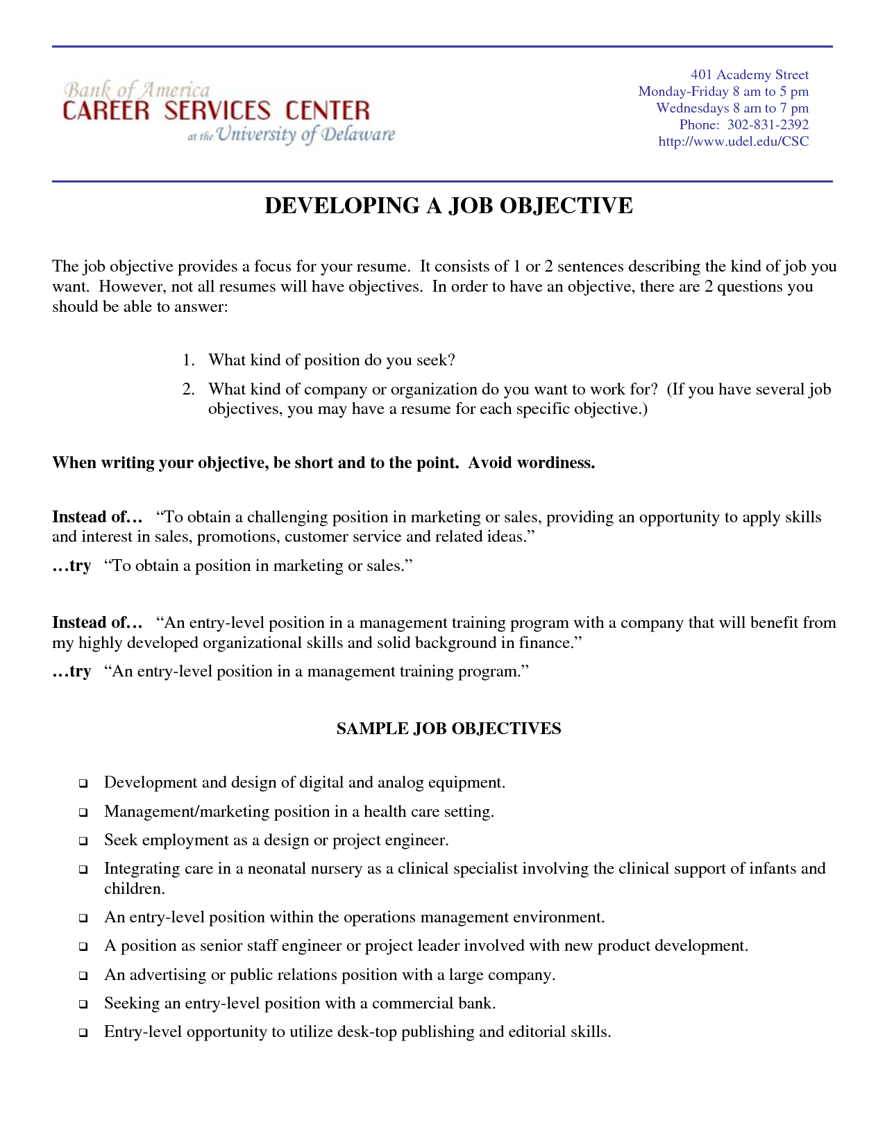 Marketing Resume Objective Samples Resumes Design The Relic  What Is Job Objective