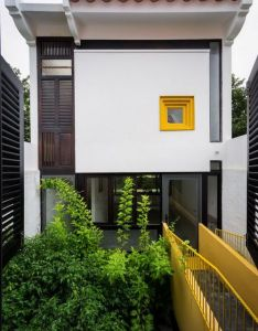Can tho house is designed for  young couple family the blending of two different cultures as husband was born and raised in hanoi also dd  design pinterest architecture townhouse rh
