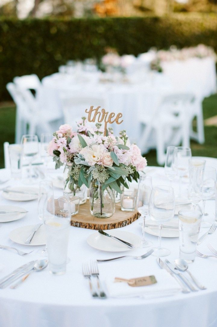 Whimsical and Romantic California Wedding  California wedding Wedding centerpieces and Whimsical