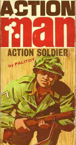 Action Man Action Soldier by Palitoy