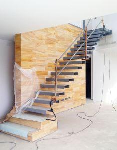 Casa  arquitectos barcelona ya hemos acabado las pieza de la escalera also rh pinterest
