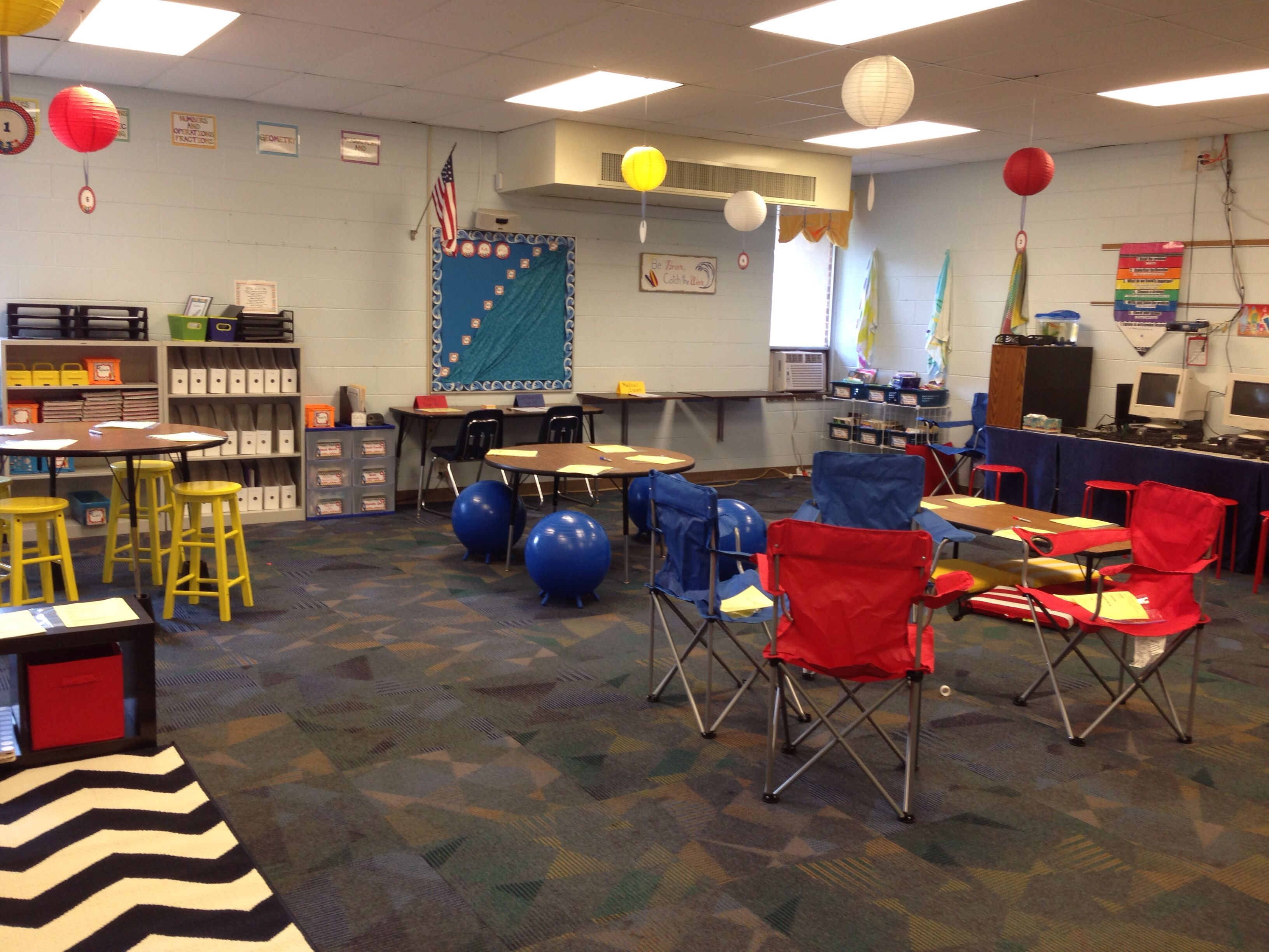 Teacher Chair Alternative Seating In My Classroom First Day