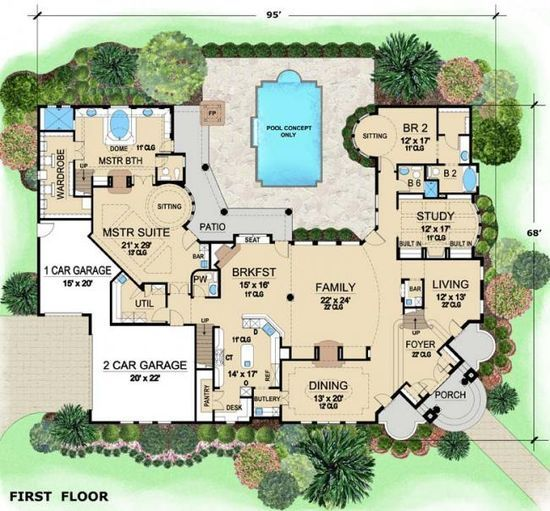 Good House Layouts Sims 3 House Plans And Ideas Pinterest