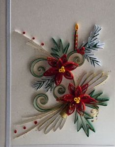 also easy quilled xmas cards  pinteres rh pinterest