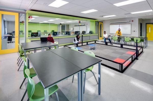 Schools for Elementary Stem Lab Design