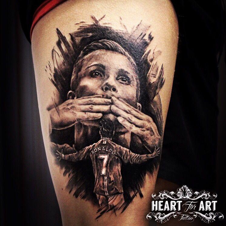Cristiano Ronaldo Tattoo Cr7  Tattoo  Pinterest Tattoo
