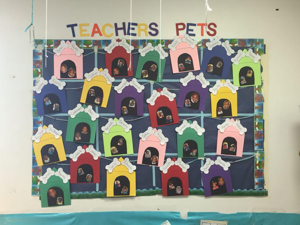Bulletin Board Teacher S Pets