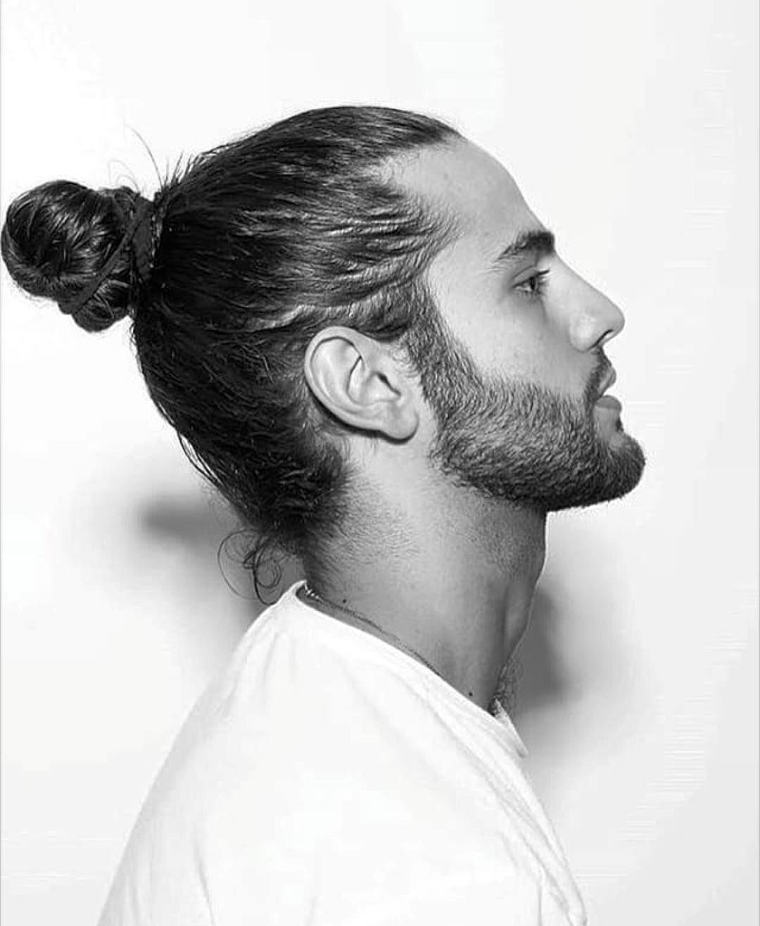 nice 45 Awesome Man Bun Hairstyles  You Should Try It