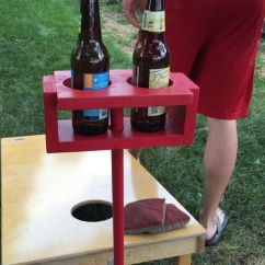 Video Game Chair With Cup Holder Leather Professor Never Spill Your Drink When Playing Yard Games Again! This Holds At Arm ...