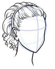 outline hair style