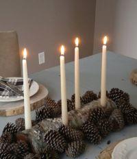 Log candle holder on Etsy, $20.00 | Candles | Pinterest ...