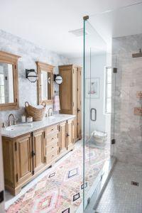 Modern Boho Bathroom Renovation Reveal with Rugs USA's ...