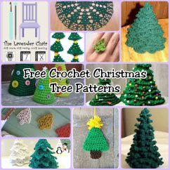 Crochet Christmas Chair Covers Bedroom Pakistan Free Tree Patterns The Lavender