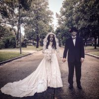 Couple Halloween costume Ghost bride and groom Halloween ...