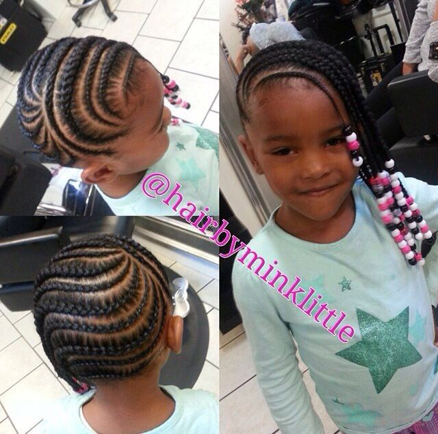 Cute Cornrows And Beads Blackhairinformation Com