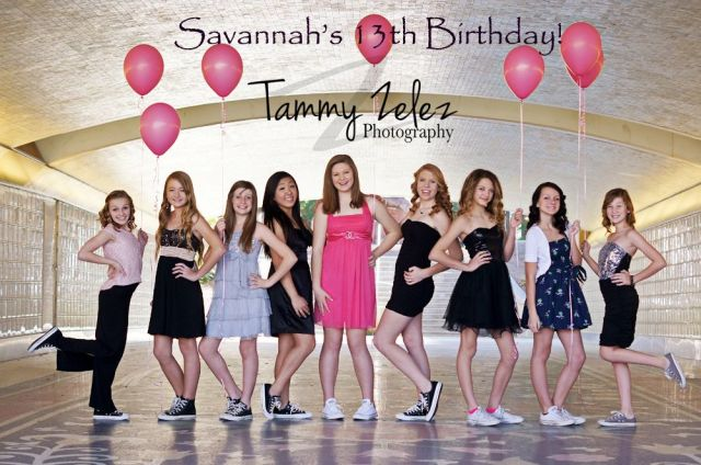 13th birthday photoshoot props