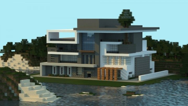 Modern House I Made In Minecraft Jar9 Modern Houses And