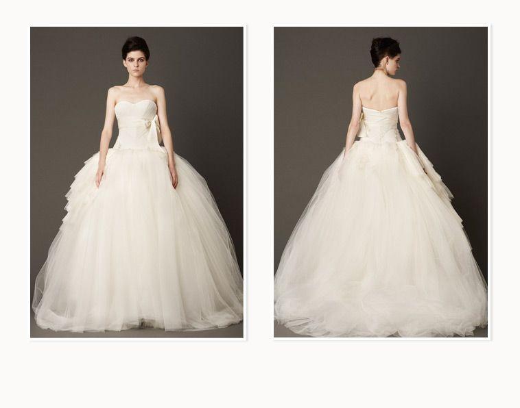 Vera Wang Wedding Dress Lookbooklouisa