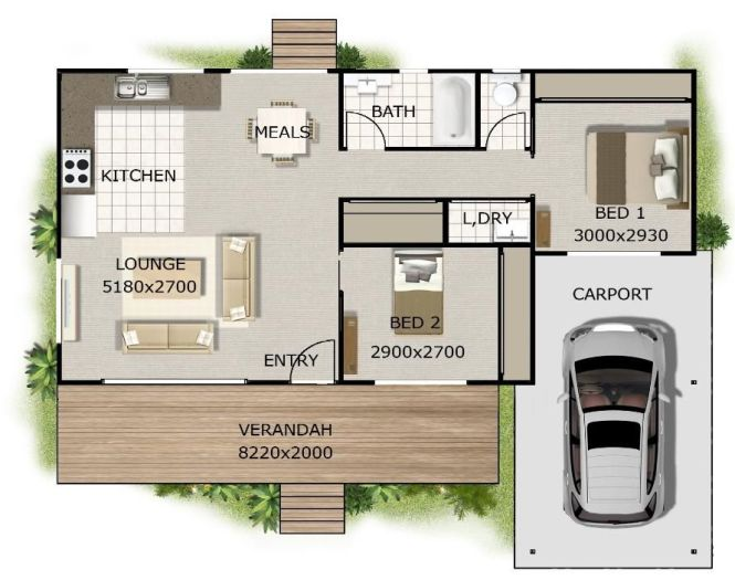 2 Bedroom Bath Cottage Plans Want This Plan Includes Concept E Levations F Small Houseshouse