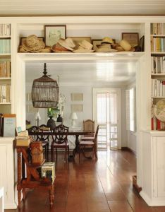 The guest house at hibiscus hill design by india hicks stunning dining room designed also rh in pinterest