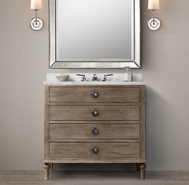 maison single vanity sink - bathroom 910/600/860