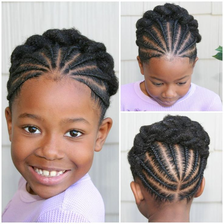 Natural Hairstyles For Little Girls Natural Hair Pinterest