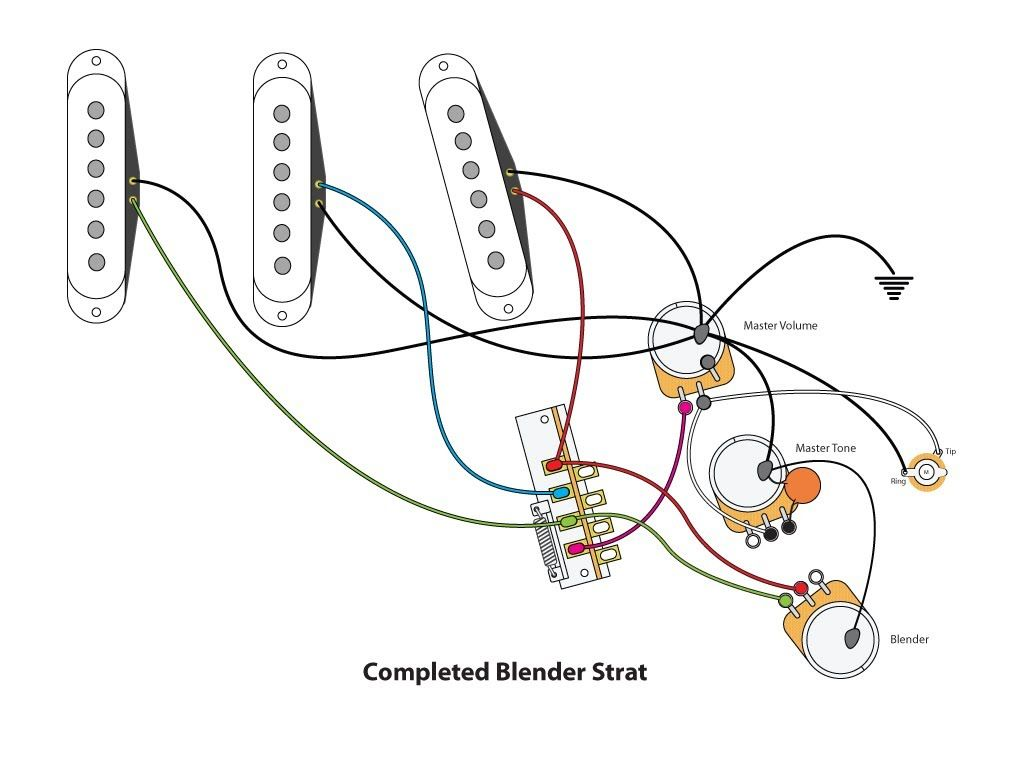 precision bass wiring diagram rothstein guitars %e2%80%a2 serious tone for the player class voting system blender strat diy pinterest jeff