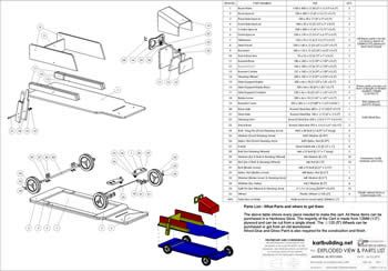 Wooden Go-Kart Plans :: How to build a wooden push cart