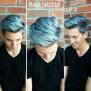 mens blue hair ideas