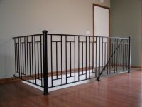 Custom interior iron railing | Interior Iron Railings ...
