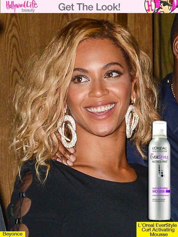 Beyonce's Tousled Wavy Bob — Get Her Sexy Look Bob Nuovi Tagli