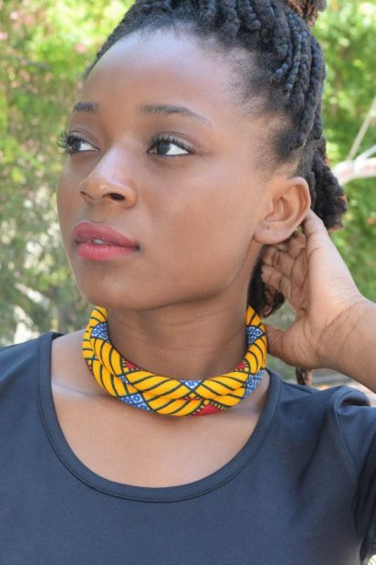 Image result for ankara choker