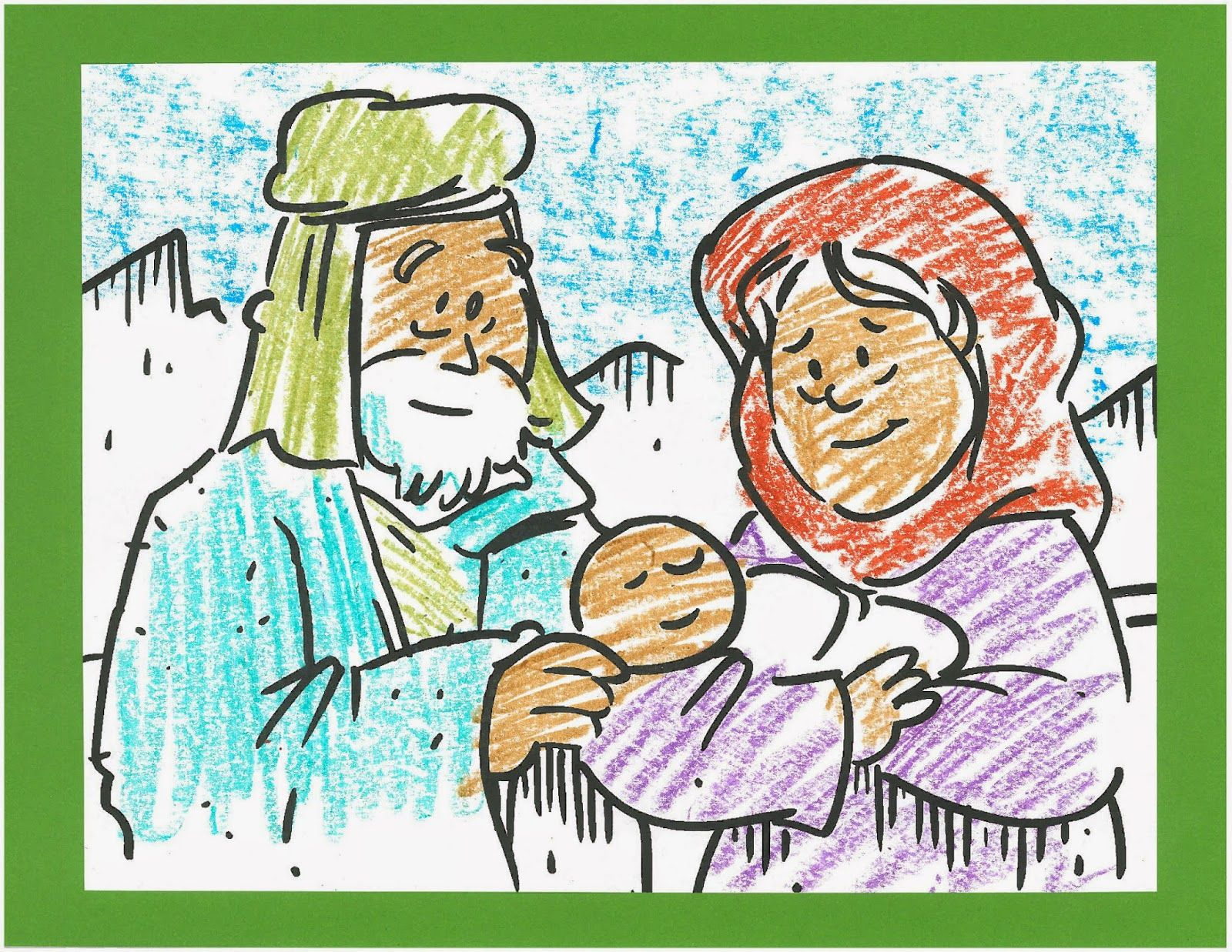 Boring Bible Busters Use This Coloring Page To Tell The Story Of Abraham And Sarah And The