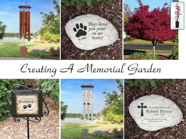 Ideas For Creating A Memorial Garden #MemorialGarden Creating A
