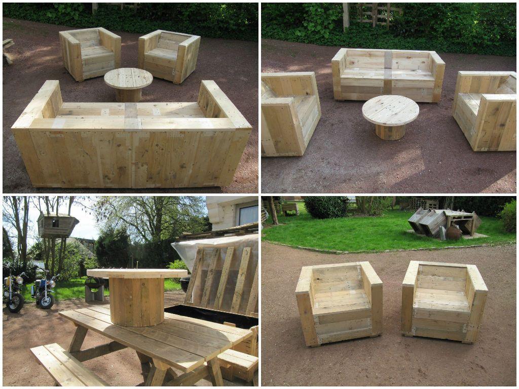 DIY Cheap Garden Furniture Gardens Spare And Vander