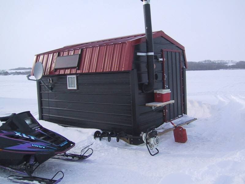 Best 25 Ice Fishing House Ideas On Pinterest Ice Fishing Shanty