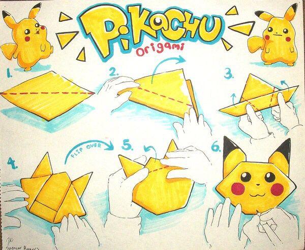 cool paper plane diagram porsche 944 fuse box pokemon origami | pinterest origami, pokémon and pikachu
