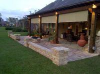 Same homeowner with his original design and DIY back porch ...