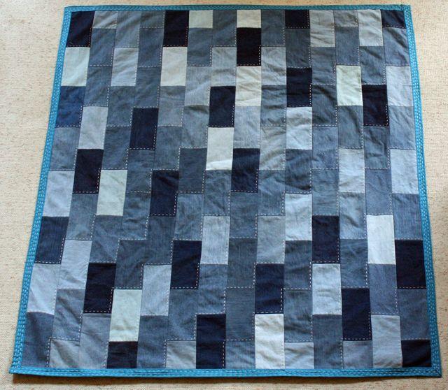 Denim Quilt Patterns on Pinterest  Denim Quilts Blue